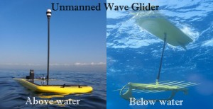 Dual views of the Wave Glider http://www.roboticsbible.com/wp-content/uploads/2011/12/unmanned-wave-glider-300x154.jpg
