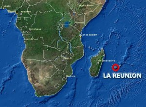 Location of Reunion Island