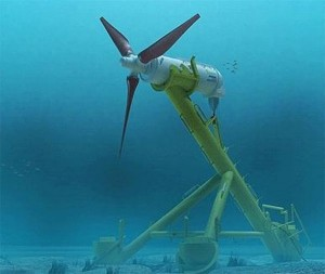 Computer Generated Image of Hammerfest Turbine