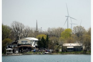 Toronto Star - Wolfe Island Wind Farm behind Frontenac Township
