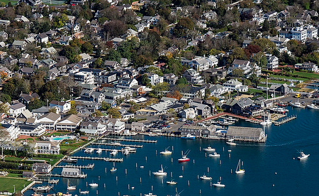 Edgartown harbor on Martha's Vineyard. (© John Greim/LightRocket via Getty Images)