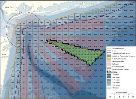 "proposed lease for ""The Wedge"" offshore wind farms (BOEM)"